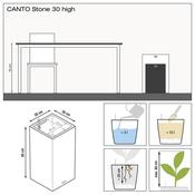 VASO CANTO STONE TOWER