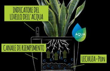 Sistema irrigazione Lechuza classico